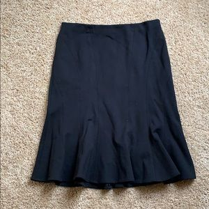 Ann Taylor Ruffles Pencil Skirt